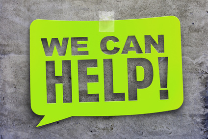 """""""we can help"""" green banner on the background of the texture. Design template."""