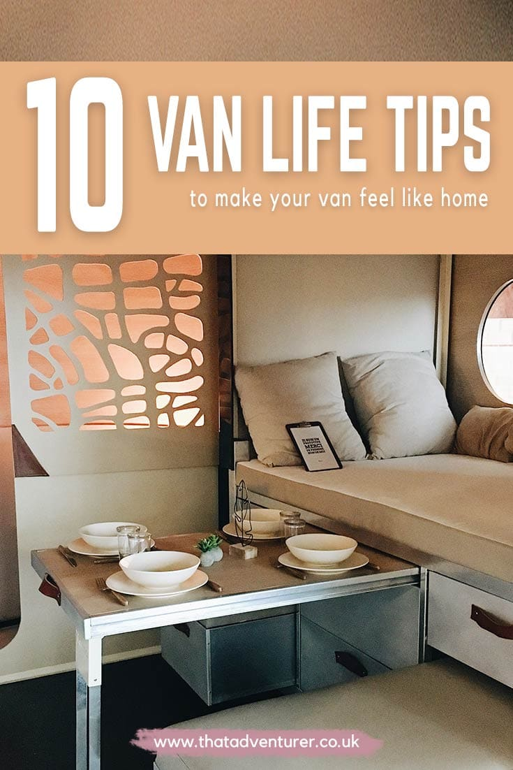 Sofa Van Lifa Living 10 Ways To Make Your Camper Feel Like Home That Adventurer
