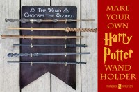 Harry Potter 4 Wand Display  medmind.co.uk