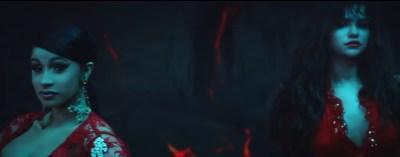 Cardi B & Selena Gomez Glow In 'Taki Taki' Video Trailer - That Grape Juice