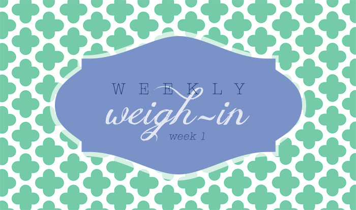 The D-Word Weigh-In #1 That Lovely Life