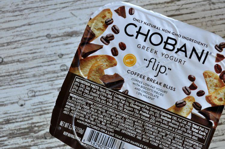 chobani flip coffee break