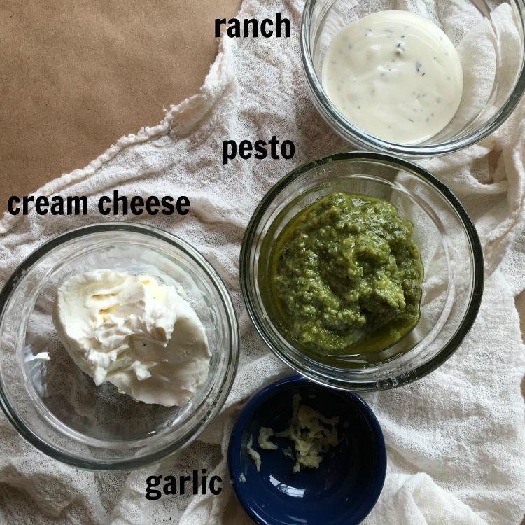 pesto dip ingredients
