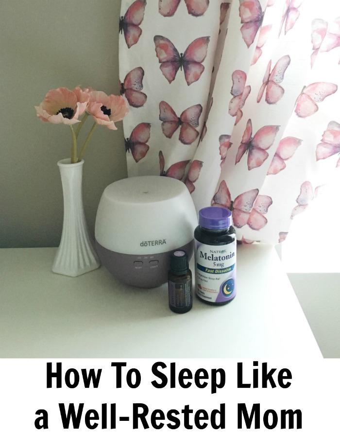 How To Sleep Like a Well-Rested Mom