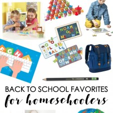 Back To School Favorites For Homeschoolers