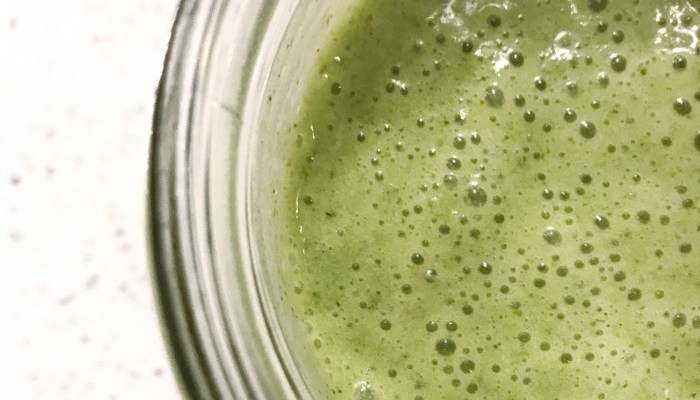 Celery + Apple Green Smoothie