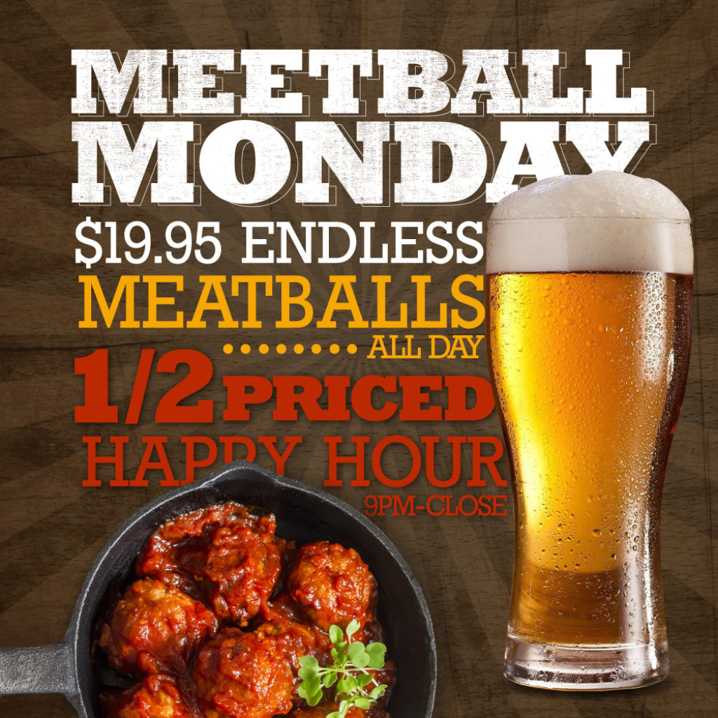 Happy Hour Places Near Me Patchogue Ny That Meetball Place
