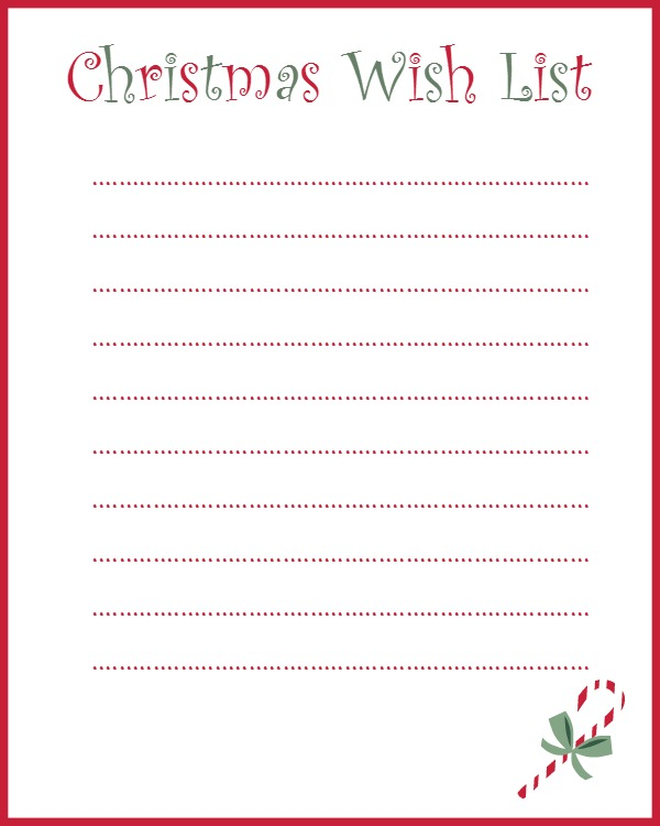 My Grown-Up Christmas Wish List (And A Free Printable)! ⋆ That One Mom