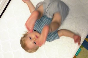 Newton Crib Mattress Review and Giveaway