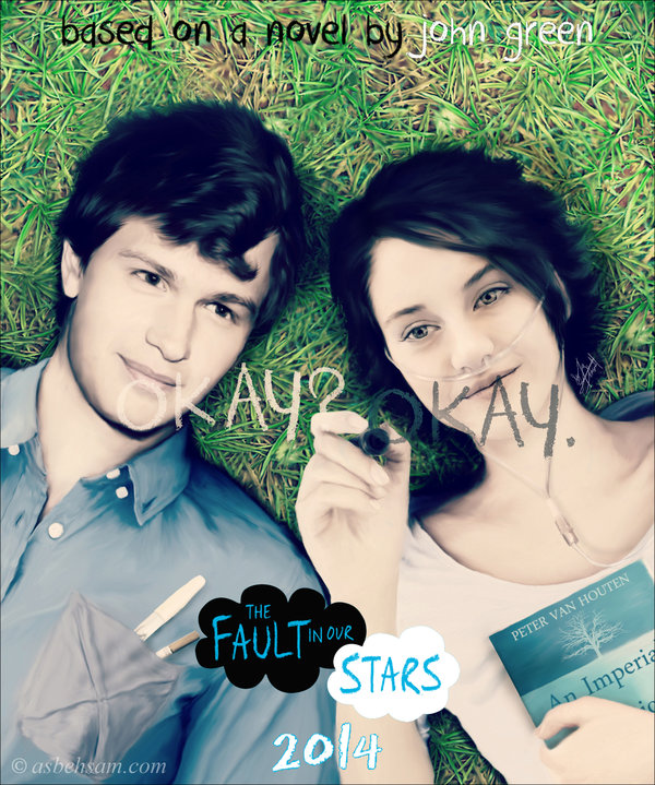 First Poster for The Fault In Our Stars Movie ... Say What ...