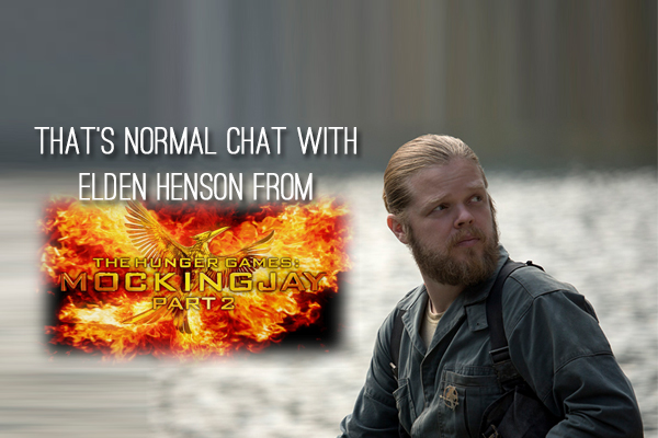 TN Exclusive: Interview with Elden Henson (Pollux) from The Hunger Games