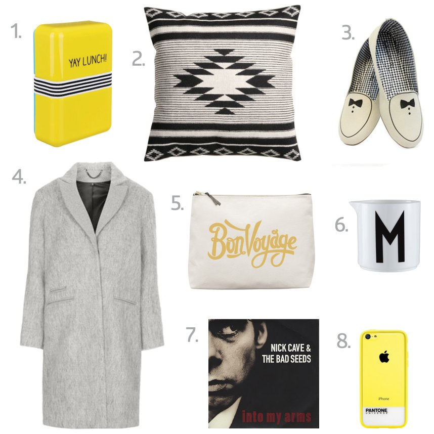 shopping wishlist for october