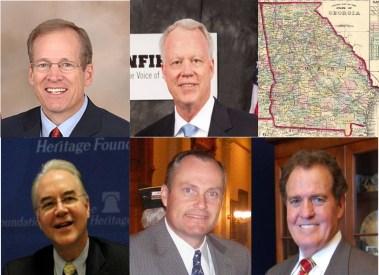 Georgia Senate candidates