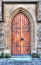 Wooden Church Doors, Kutna Hora