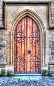 Wooden Church Doors, Kutna Hora