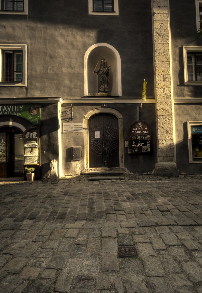 marionette museum, cesky krumlov, czech republic