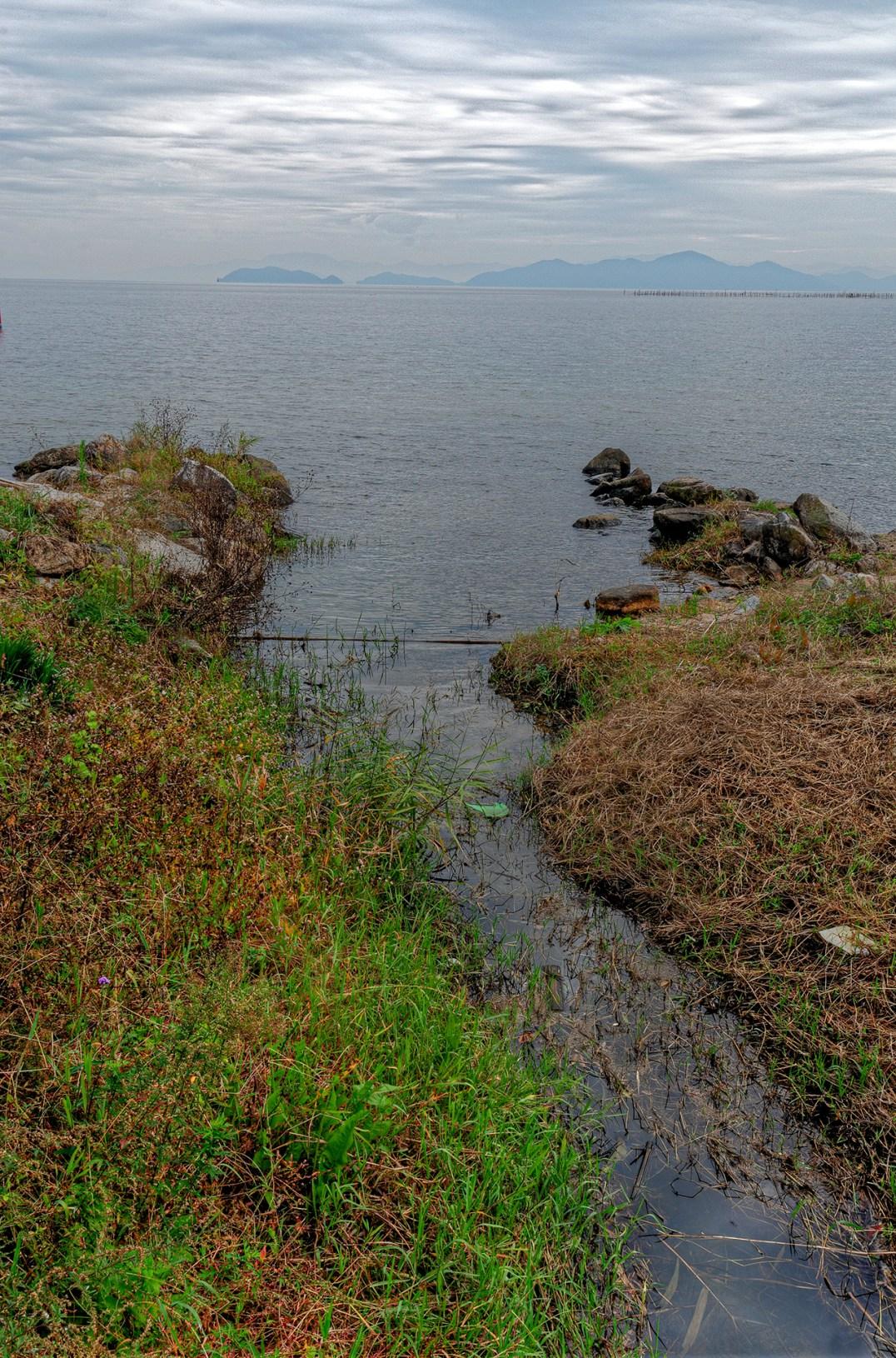 Across Lake Biwa, Japan