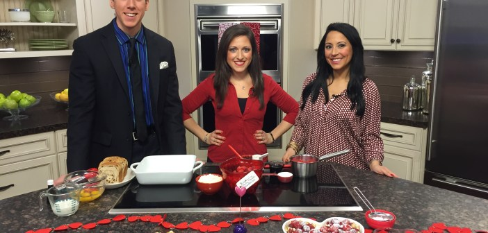 That's SO Jenn's Raspberry French Toast Casserole *As Seen on CT Style News 8*