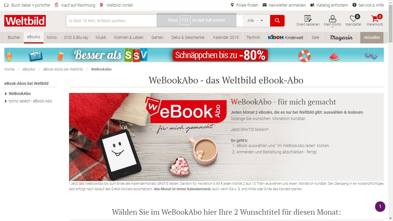 Amazon Konto Germany S Weltbild Launches An Ebook Subscription Also Reminds Us