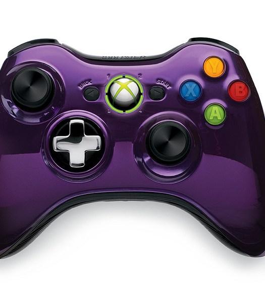 Purple Chrome Series Controller