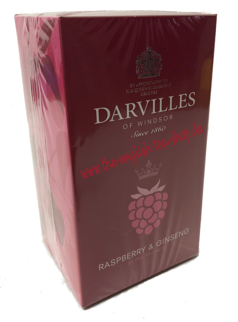 Ginseng In Deutschland Darvilles Of Windsor Raspberry Ginseng 25 Envelope Tea Bags 37 5g