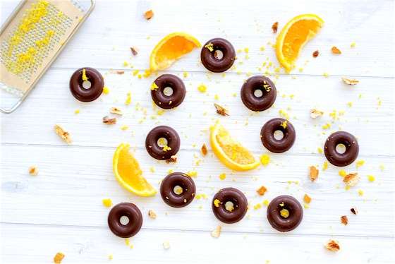 Raw Chocolate orange rounds, Raw terry's chocolate orange, homemade terry's chocolate orange