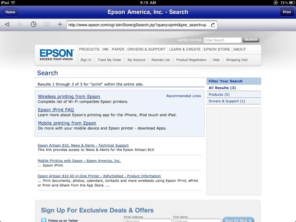 Fullsize Of Epson Artisan 810 Driver