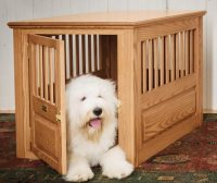 This dog crate blends in with your decor  The Gadgeteer
