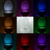 Motion activated IllumiBowl lights the way to your throne ...