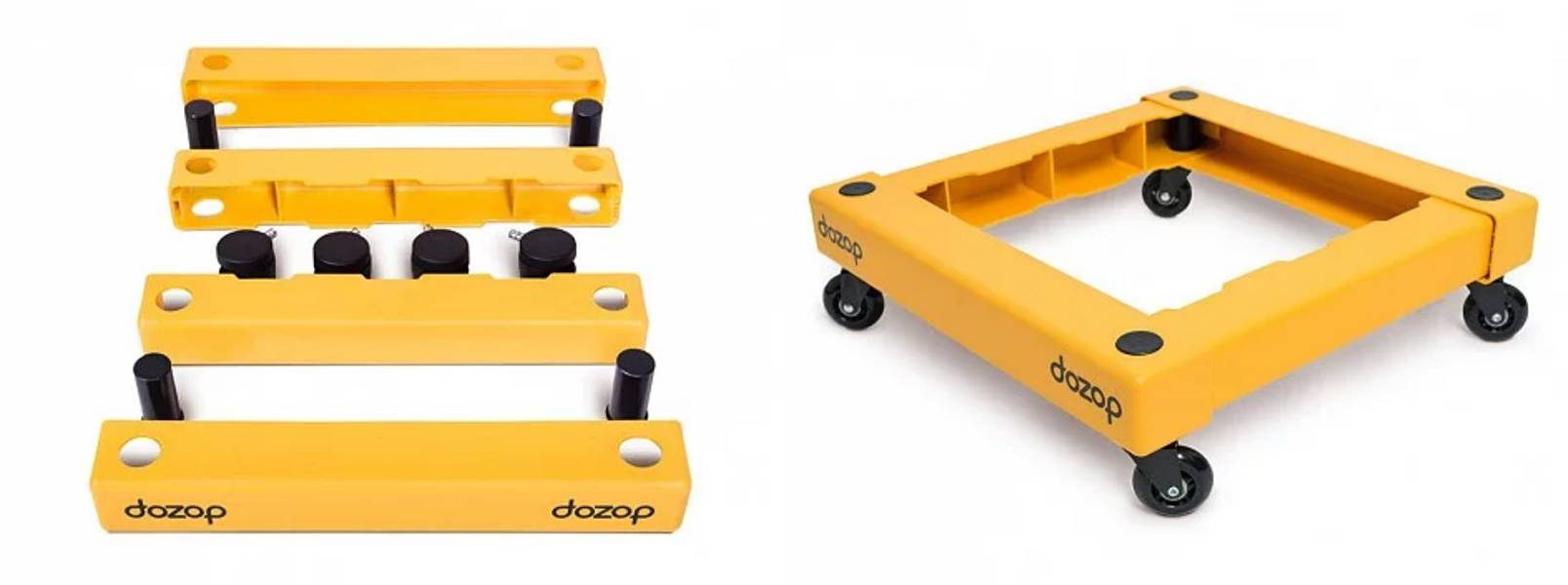 The Dozop Collapsible Dolly Is A Dolly On Demand The