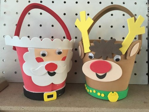 Christmas Bucket Buddies