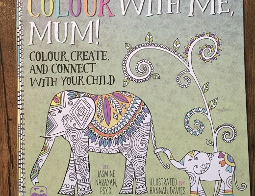 Colour with Me, Mum! by Jasmine Narayan