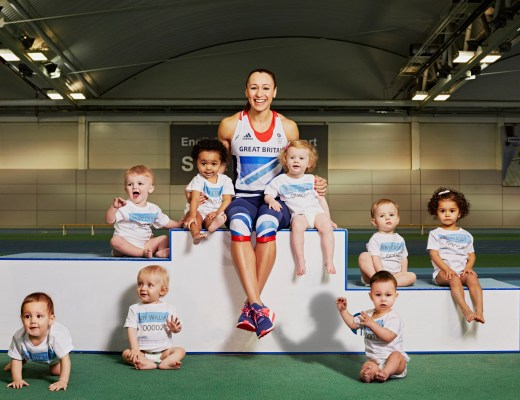 Jess Ennis Pampers Little Champions 1
