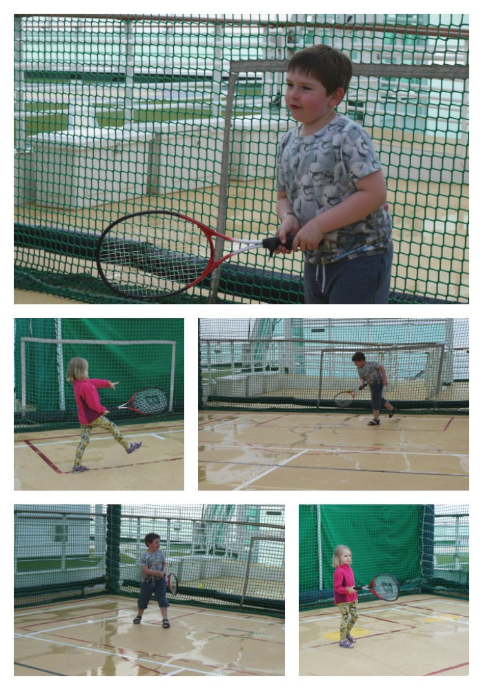 family game of tennis