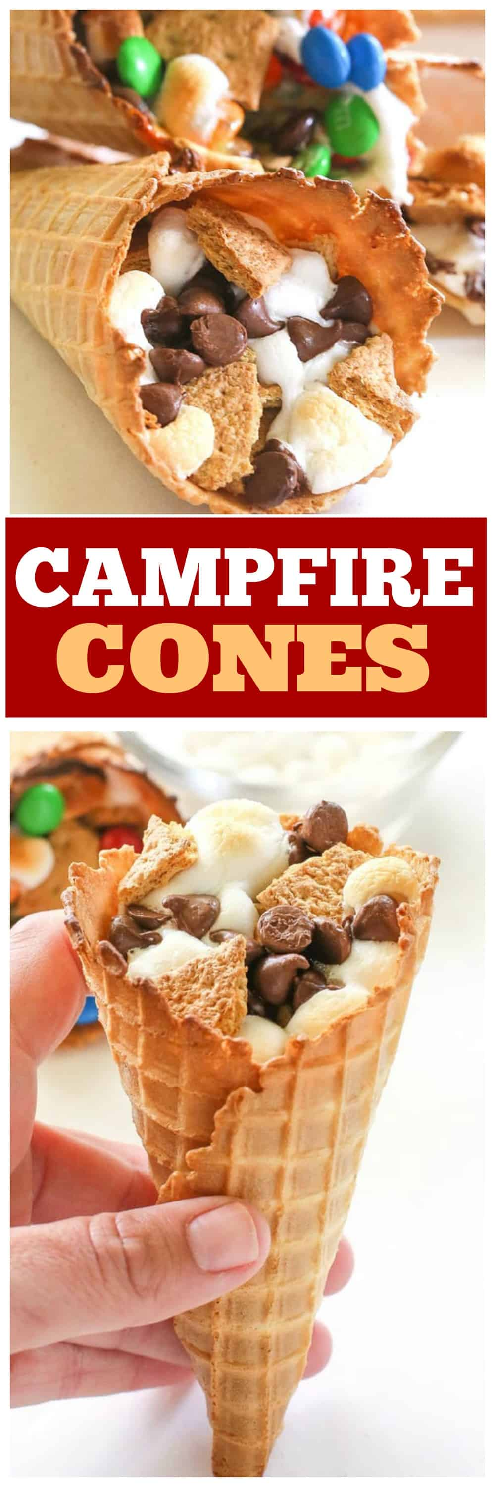 Tolle Desserts Campfire Cones Great For Camping The Girl Who Ate Everything