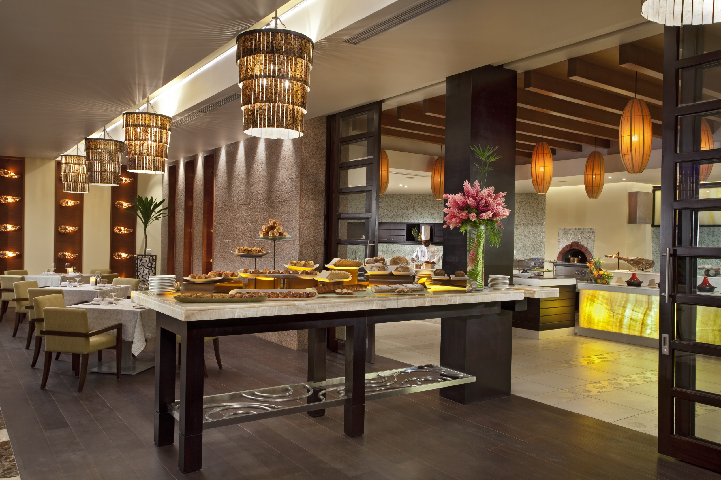 Buffet Cuisine Design Tabletop Concepts For Raffles Seychelles Resort