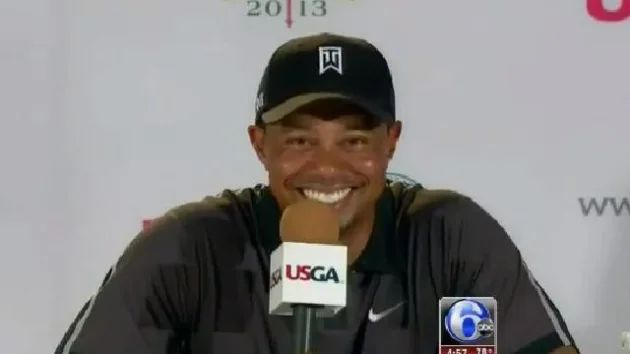 tiger woods news conference tomorrow