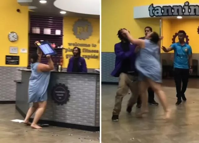 Outraged Planet Fitness Member Hurls Equipment After Dispute Over
