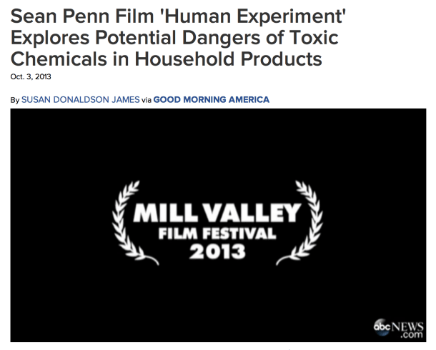 Sean Penn Film: Human Experiment