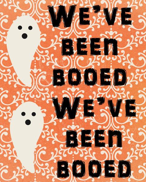 You\u0027ve Been Booed!