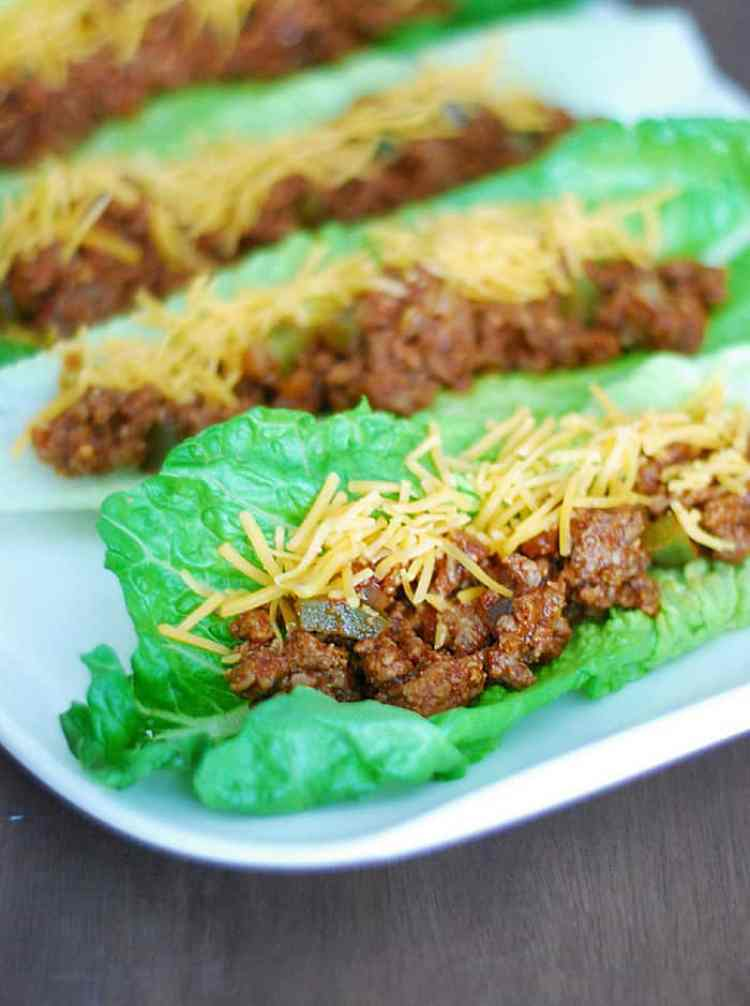 Low Carb Sloppy Joes - healthy, delicious and probably the best sloppy joe recipe you'll ever have.
