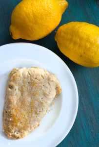 Low Carb Lemon Scones