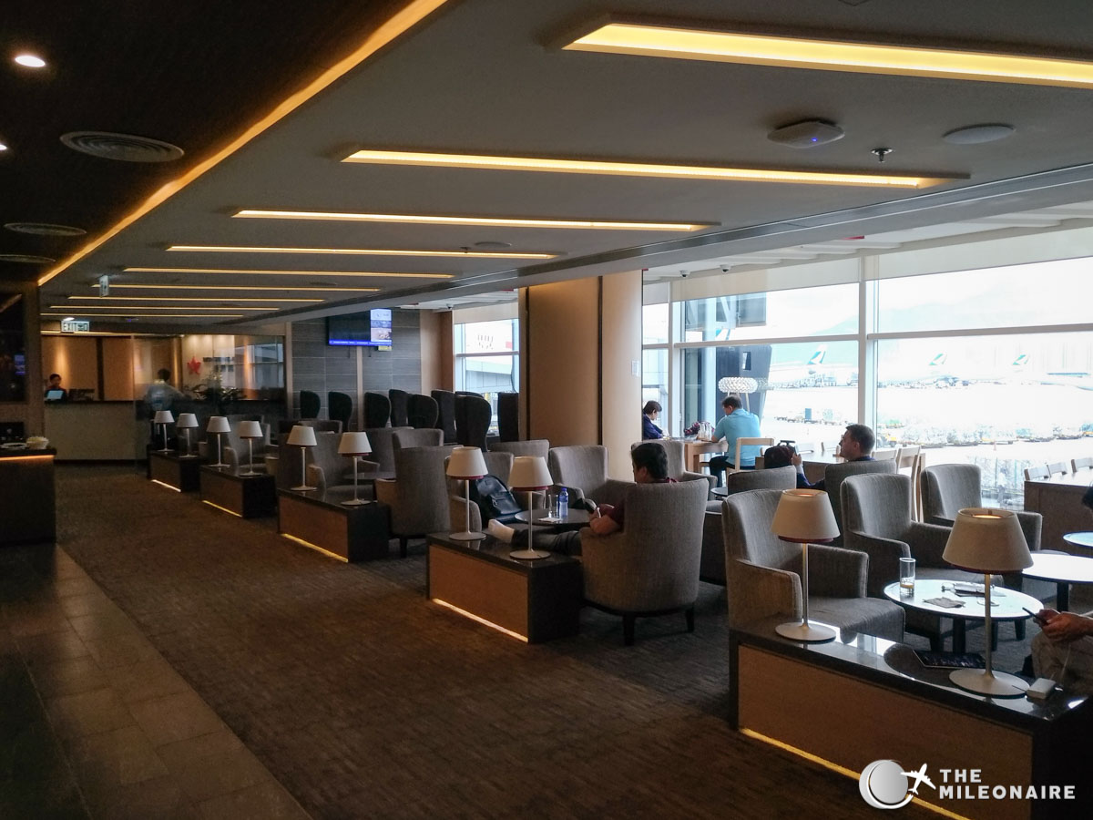 Sessel Leona Hong Kong Airlines Lounge 'club Bauhinia': Review & Foto