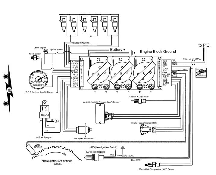 tec ii wiring diagram