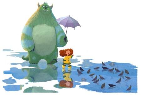 20 иллюстраций монстров, которых полюбит Ваш ребенок
