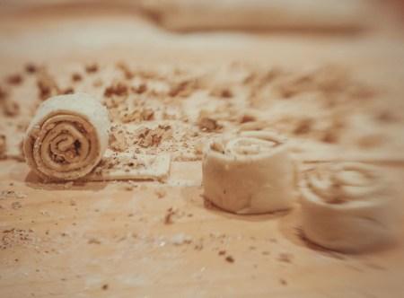 Готовим вместе: ореховые завитки