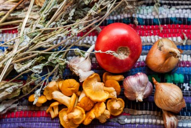 Готовим вместе: грибной суп