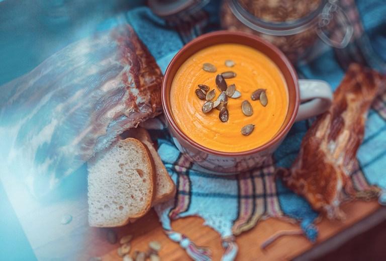 Готовим вместе: тыквенный суп