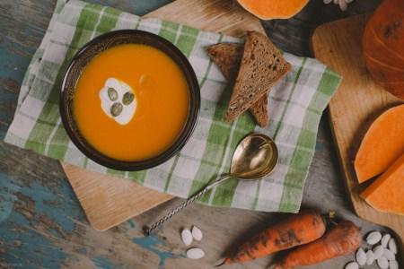 Готовим вместе: тыквенный суп-пюре