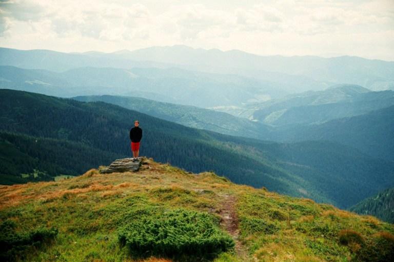 Мир с высоты птичьего полета: горы Оли Осадчей